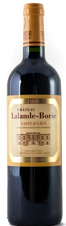 Chateau Lalande - Borie, St Julien 2008