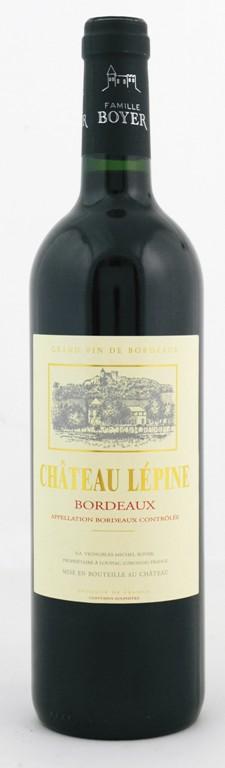 Chateau Lepine, Merlot, Bordeaux Rouge 2016