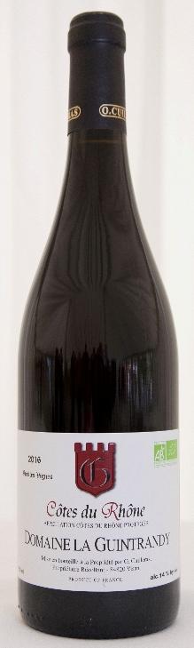 Cotes du Rhone Rouge Old Vines (Organic) 2018