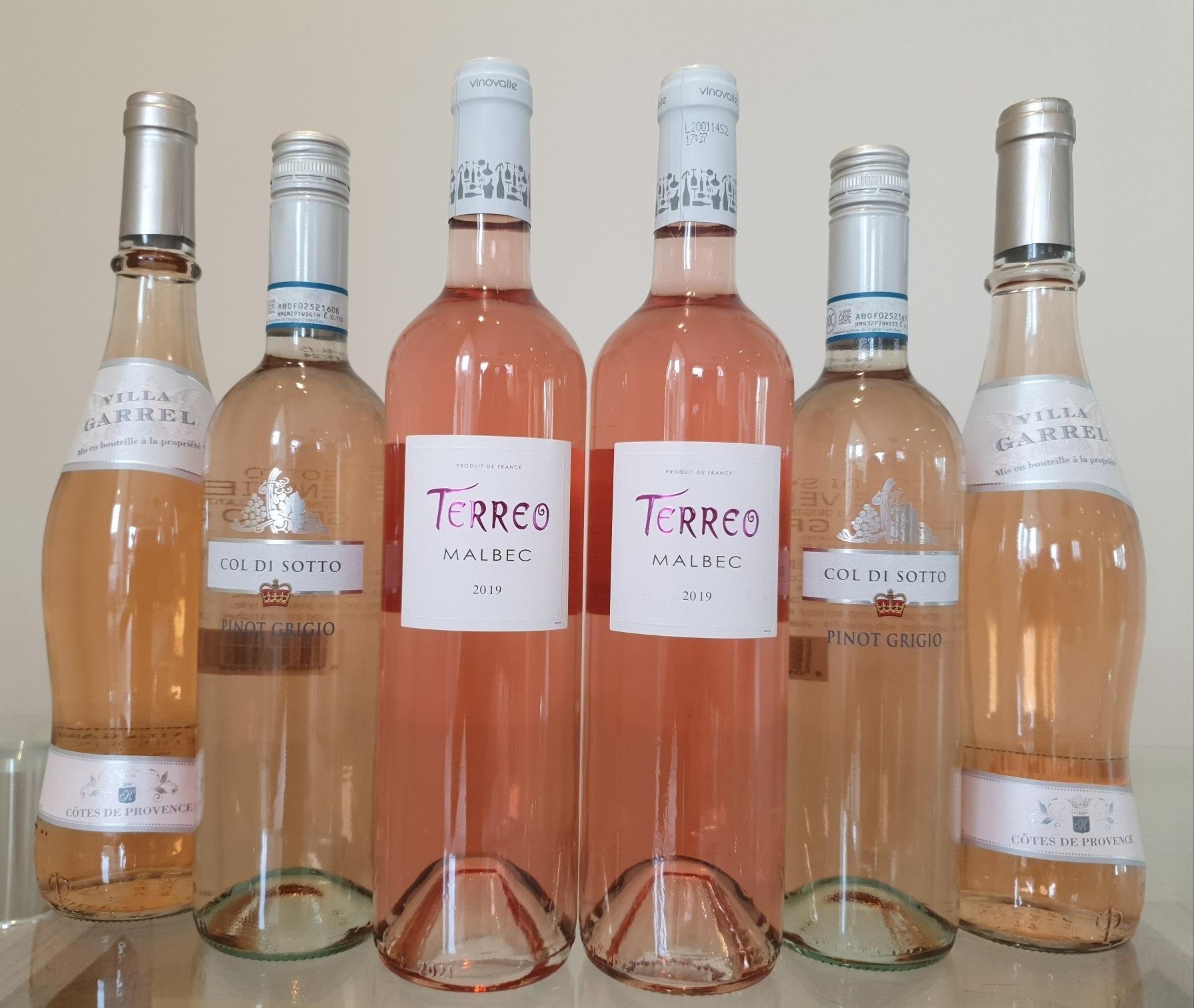 The Rose 12 Bottle Case NV