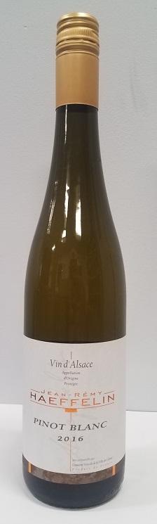 Pinot Blanc, Dom Viticole, J R Haeffelin 2016