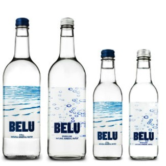 Belu Mineral Water Sparkling 24 x 330ml NV