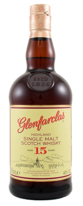 Glenfarclas 15 year old Single Malt Whis NV