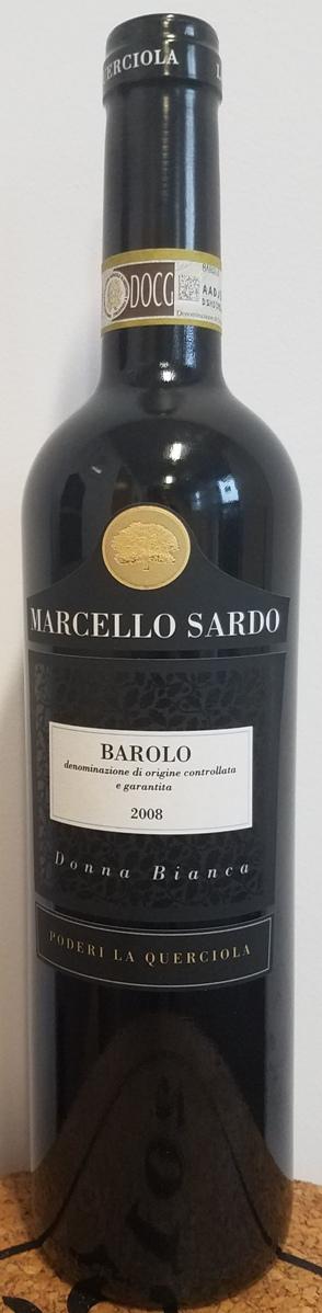 Barolo donna Bianca, La Querciola 2008