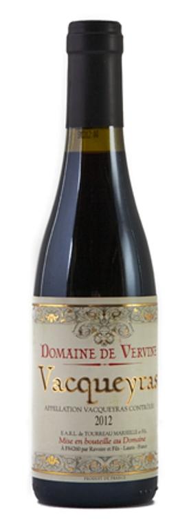 Vacqueyras, Domaine de Vervine HALF 2015