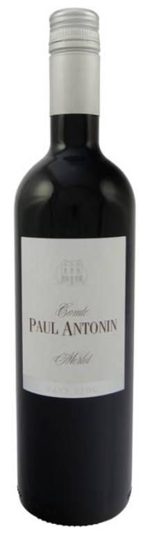 Merlot Comte Paul Antonin Pays d`Oc 2017