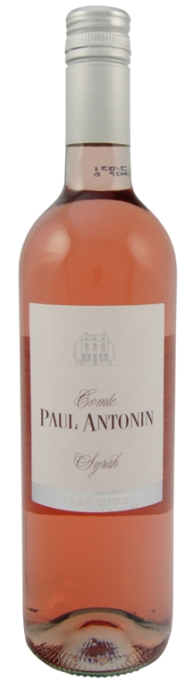 Syrah Rosé Comte Paul Antonin 2016