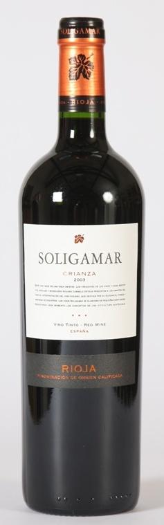 Rioja Crianza, Soligamar 2014