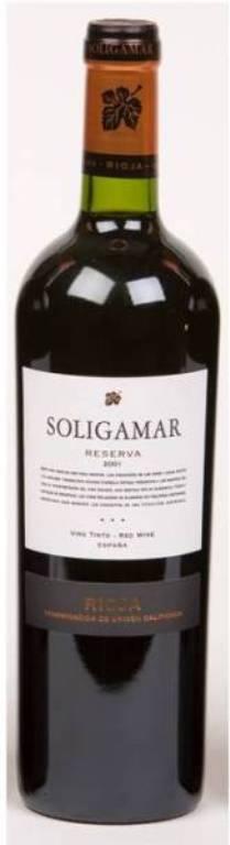 Rioja Reserva, Soligamar 2012
